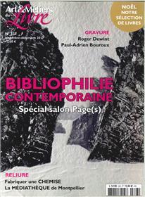 Art Et Metier Du Livre N°323 Bibliophilie Contemporaine  Novembre 2017