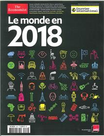 Courrier International N°64 Le Monde En 2018 Decembre 2017