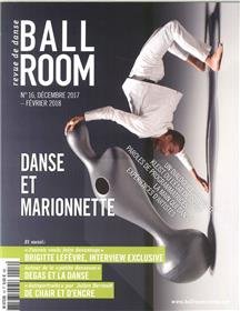 Ballroom N°16 - Danse Et  Marionnette - Decembre 2017/Fevrier 2018