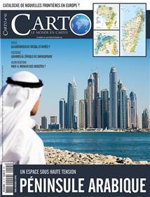 Carto N°45 La Peninsule Arabique Janvier/Fevrier 2018