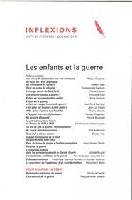 Inflexions N°37 Les Enfants Et La Guerre Janvier 2018