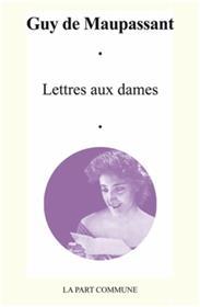Lettres Aux Dames.