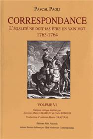 Pascal Paoli - Correspondance Vol 6
