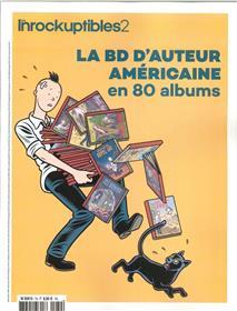 Les Inrockuptibles2 N° 79  La Bd D´Auteurs Americaine En 100 Albums Janvier 2018