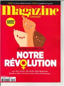 Le Nouveau Magazine Littéraire N°2 Notre révolution - février 2018