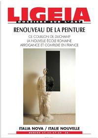 Ligeia N°65 Renouveau De La Peinture