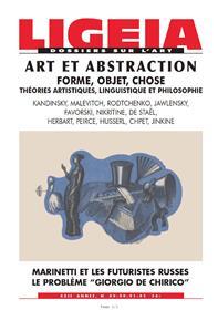 Ligeia N°89 Art Et Abstraction