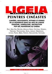 Ligeia N°97 Peintres Cineastes