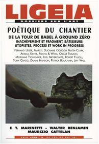 Ligeia N°101 Poetique Du Chantier