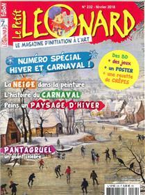 Le Petit Leonard N°232  Hiver Et Carnaval  Fevrier 2018