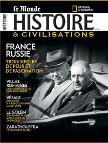 Histoire & Civilisations  N°37 France Russie - mars 2018