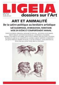 Ligeia N°145-148 Art Et Animalite Janvier/Juin 2016