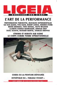 LIGEIA N°117 L´art de la performance