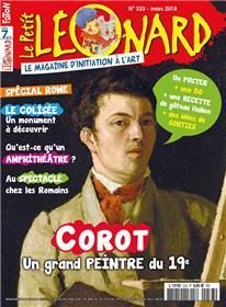 Le Petit Léonard N°233- Corot - mars 2018