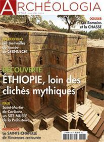 Archéologia N°563 Ethiopie -  Les Romains et la chasse  - mars 2018
