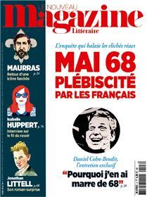 Le Nouveau Magazine Littéraire N°3  Mai 68 - mars 2018