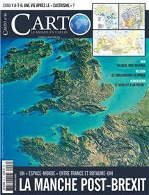 CARTO N°46  La manche post-brexit - mars/avril 2018