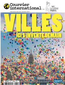 Courrier International  HS N°14 Villes, ici s´invente demain (my little Paris)  - avril 2018