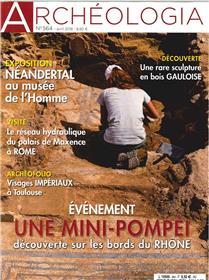 Archéologia N°564  Une mini pompei - avril 2018