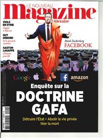 Le Nouveau Magazine Littéraire N°4  Doctrine Gafa - avril 2018