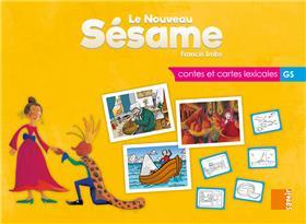 Le nouveau Sésame - Contes et cartes lexicales GS - Boitier