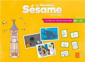 Le nouveau Sésame - Contes et cartes lexicales EB1 - Boitier