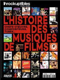 Les Inrockuptibles HS N°90 L´histoire des musiques de films - avril 2018