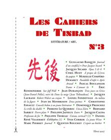 Les Cahiers de Tinbad n°3
