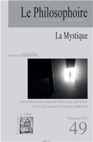 Le Philosophoire N°49 La Mystique - printemps 2018