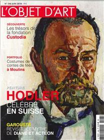 L´Objet d´Art N°546- Ferdinand Holder/Parrallélismes - juin 2018