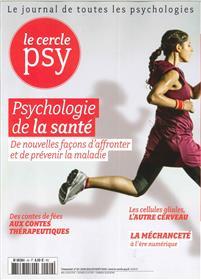 Le Cercle Psy  N°29 Psychologie de la santé  - juin/juillet/août 2018