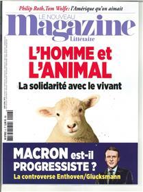 Le Nouveau Magazine Littéraire N°6  L homme et l´animal - juin 2018