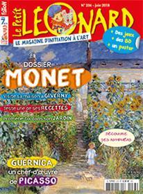 Le Petit Léonard N°236 Monet, exposition à Giverny - juin  2018