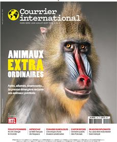 Courrier International HS N°15 Les animaux extraordinaires - juin 2018