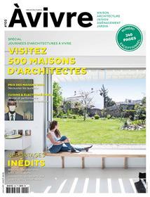 Architectures à vivre N°102 Visitez 500 maisons d´architecte -  juin/juillet/août 2018