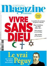 Le Nouveau Magazine Littéraire N°7/8 Vivre sans dieu - juillet/août 2018