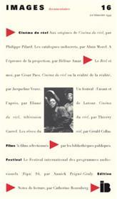 IMAGES DOCUMENTAIRES N° 16 - Cinéma du réel - 1994