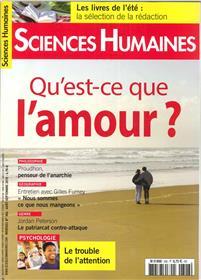 Sciences Humaines N°306 L´amour - août/septembre 2018