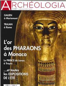 Archéologia N°567 Rome - juillet/août 2018