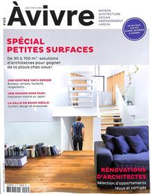 Architectures à Vivre N°103 - Petites surfaces - septembre/octobre 2018