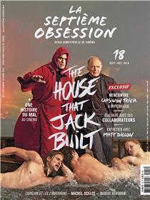 La Septième obsession N°18 The house that Jack built  - septembre/octobre 2018