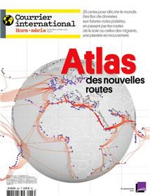 Courrier International HS  N°66 Atlas des nouvelles routes - septembre 2018