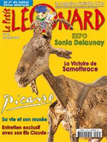 LE PETIT LEONARD N°196 Picasso  (novembre 2014)