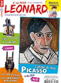 Le Petit Léonard N°238 Picasso - septembre 2018