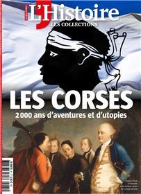Les collections de l´Histoire HS N°81 Les Corses - octobre/décembre 2018