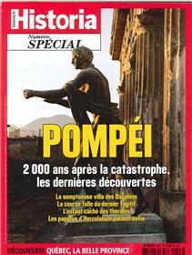 Historia spécial HS N°43 Pompei   - septembre/octobre 2018