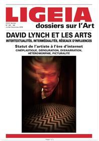 Ligeia N°165/168 David Lynch et les arts - juillet/décembre 2018