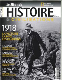 Histoire et civilisations N°43 1918, une paix perdue - octobre 2018