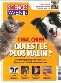 Sciences et Avenir HS N°195 Chat, chien qui est le plus malin?  - octobre/novembre 2018