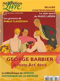 Art et métiers du livre N°328 Hugo Liesen - septembre/octobre 2018